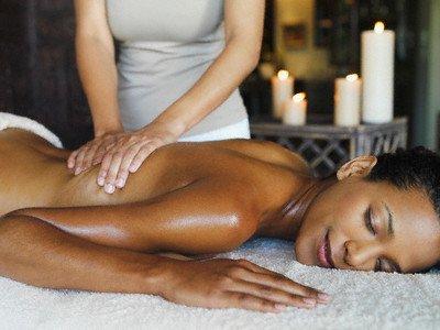 Black Girl On Girl Massage